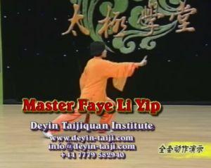 Master Faye Li Yip 49-step Wudang