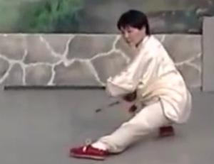 Master Faye Yip demonstrating