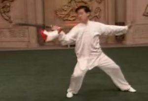 Chen Zhenglei performs Chen-shi Yi Dao