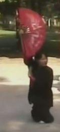 Master Faye Li Yip does Xie bu in Fan Form.