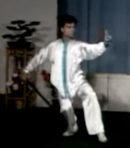Xu Bu Xia Chuo from 32-sword